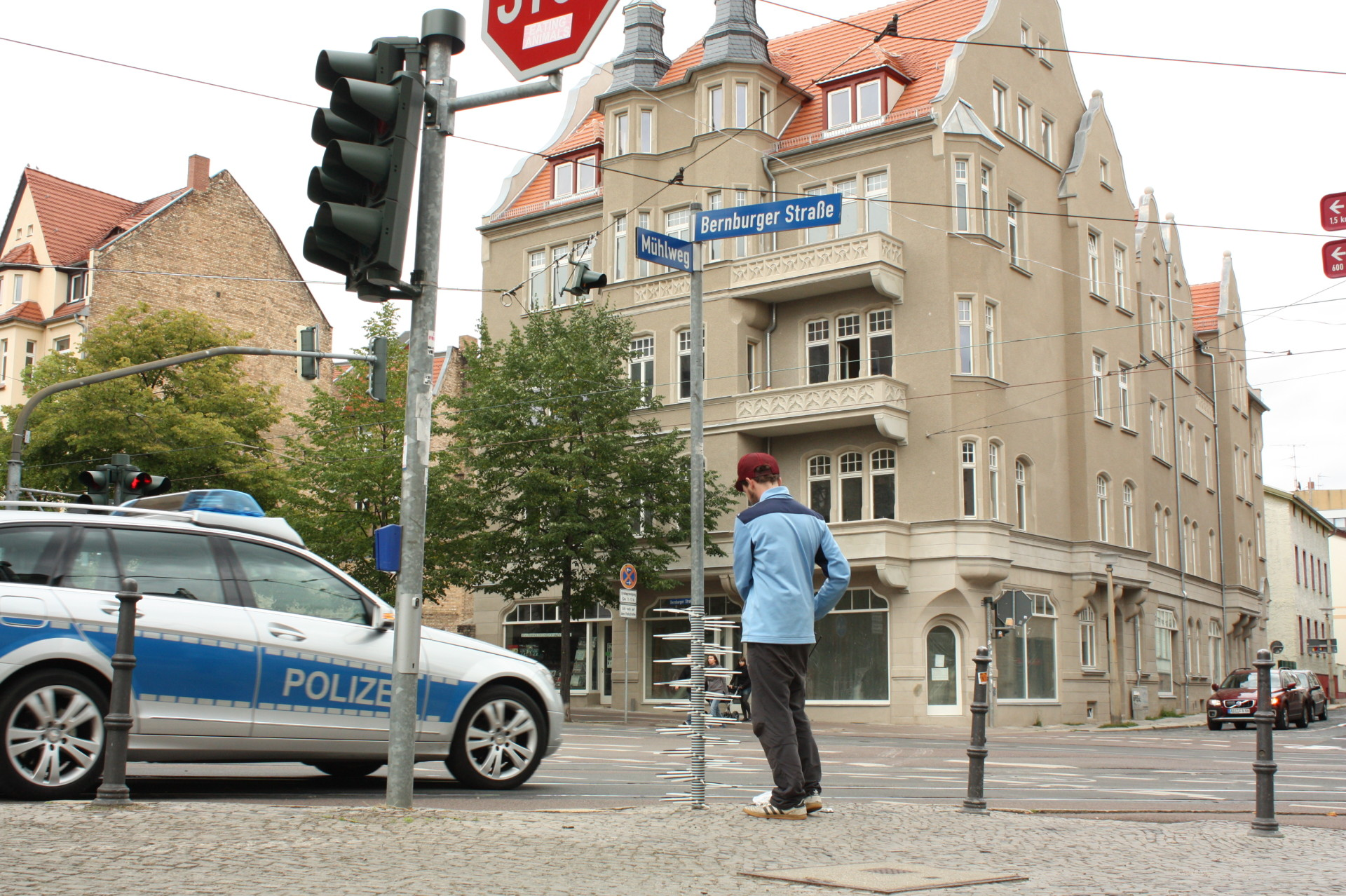 LUKAS ADOLPHI Mühlweg Ecke Bernburger Straße – Halle/Saale