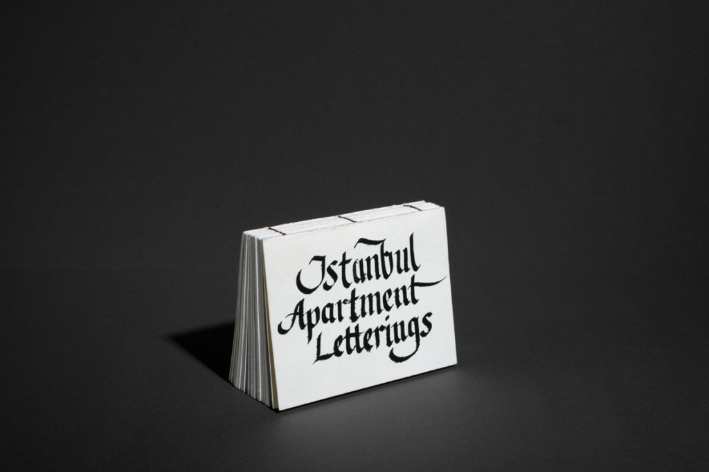 LUKAS ADOLPHI Istanbul Apartment Letterings